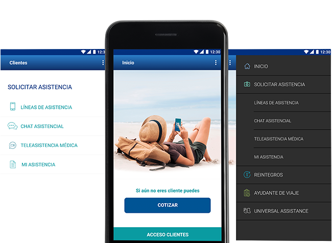 App Asistencial Travel Ace Assistance