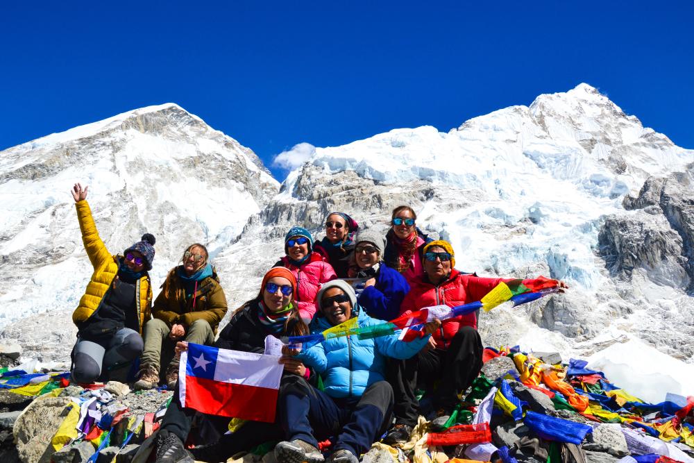 Grupo de personas - Monte Everest