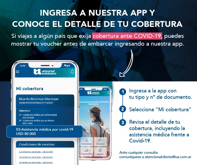 ingresa a nuestra app y conoce el detalle de tu cobertura