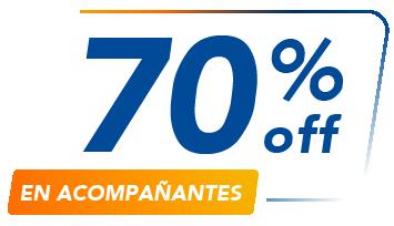 Asistencia médica en viaje - 70%off en acompañanates