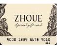 Gift Card Zhoue $ 100