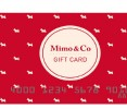 Gift Card Mimo & Co $ 300